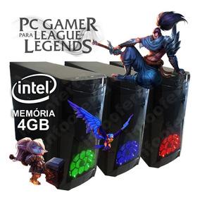 Cpu Computador Pc Gamer Lol League Of Legends + Crossfire