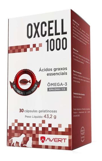 Suplemento Cães/gatos Avert Oxcell 1000 30cápsulas