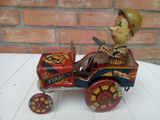 Antiguo Jeep Loco Halcón Vispa Ind. Arg. Parchecito Sin Caja