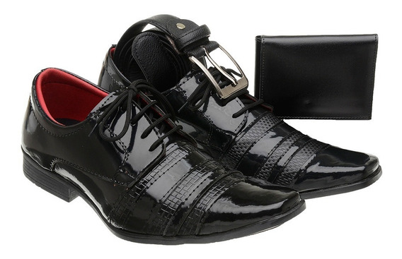 Sapato Social Verniz Masculino - 5014 2