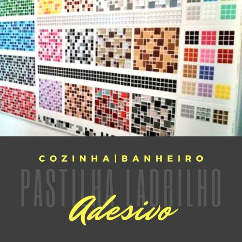 Adesivos Pastilhas Decorativas Sala Cozinha Quarto | 100 Und