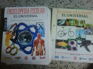Vendo Enciclopedia Y Diccionario Escolar Del Universal