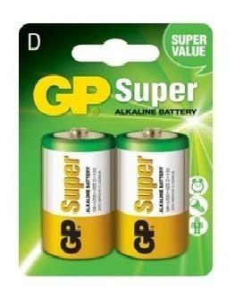 Pila Tipo D 1.5 V Super Alcalinas, Linternas, Calentadores