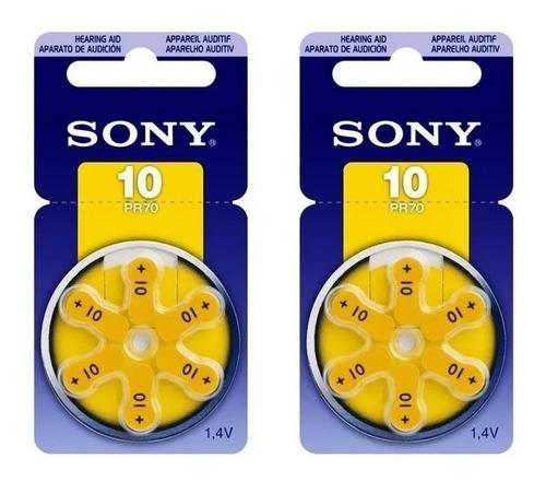 Pila Bateria Sony Para Audifonos Discapacitados Auditivos