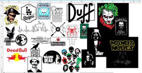 Estampas De Camisetas Variadas Em Corel Draw 200+
