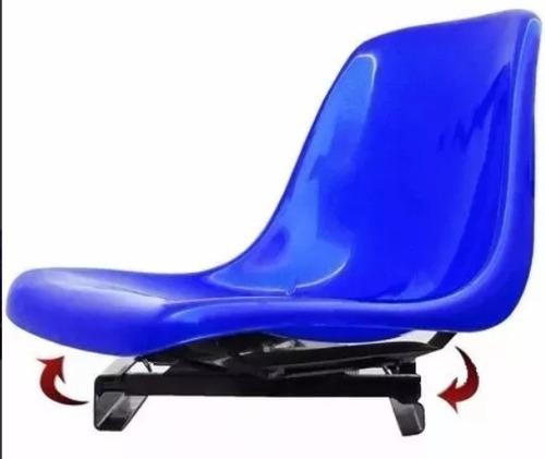 Cadeira Barco P/ Piloteiro Giratória  Concha Preção *compre*