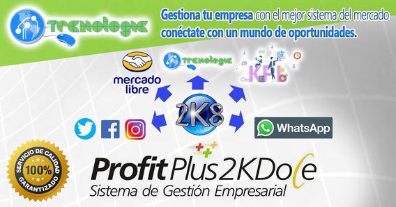 Sistema Profit Plus Administrativo Contabilidad Nomina Kpi