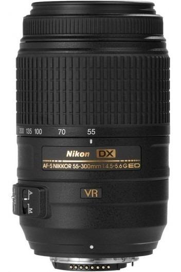 Lente Nikon Af-s 55-300mm Usada Garantia 1 Ano E Nf-e.
