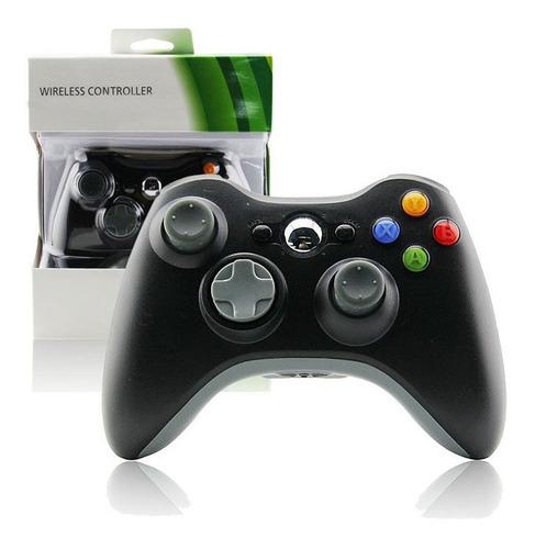 Joystick Control Xbox 360 Mando Inalambrico Negro
