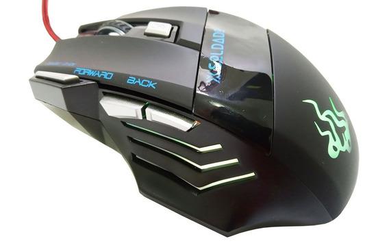 Mouse Gamer X Soldado Gm-700 Oferta Envio Imediato Em 24hrs