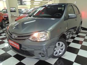 Toyota / Etios Sedan X 1.5 - Flex - Cinza - Completo - 2016