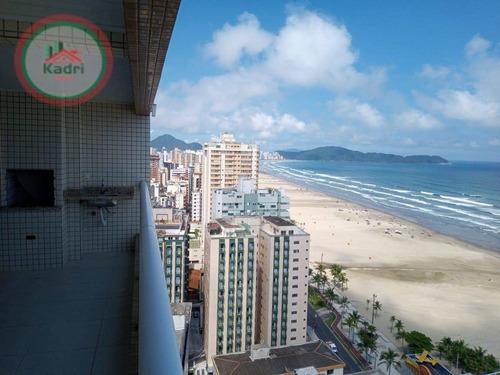 Apartamento Com 4 Dormitórios À Venda, 158 M² Por R$ 795.000,00 - Aviação - Praia Grande/sp - Ap5389