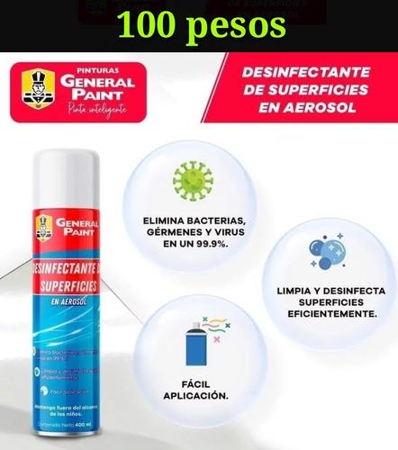 Imagen 1 de 1 de Oust Spray 400 Ml Desinfectanta , Elimina Virus Y Bacterias