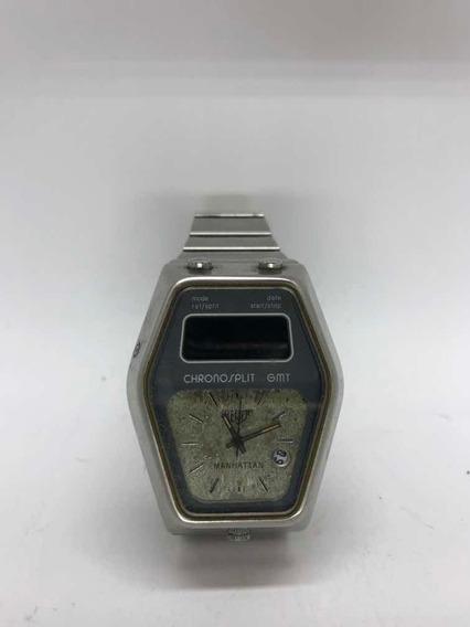 Relógio Heuer Chronosplit Gmt Manhattan -