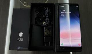 Samsung Galaxy Note 8 1 Mes De Uso Completo Com Nf