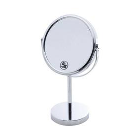 Espelho Duplo Para Banheiro 19cmx12cmx32 De Ferro Cbwt