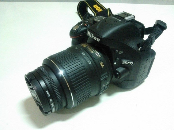 Câmera Fotográfica Nikon D5200