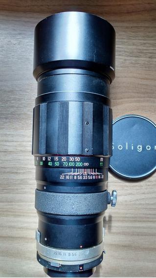 Lente Miranda 200mm 3.5 Excelente!