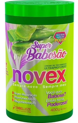 Novex Mascarilla Super Babosa 400gr - g a $88