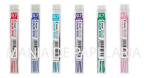 Grafite Colorido Color Eno 0.7 Kit 6 Cores Pilot