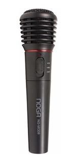 Microfono Profesional Inalambrico O Cable Noganet Karaoke