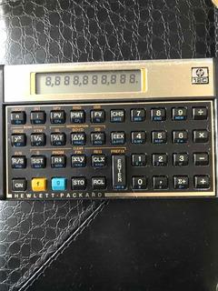 Calculadora Financeira Hp 12-c (semi-nova) (leia O Anúncio