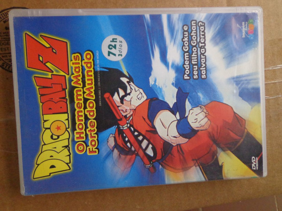 Dragon Ball Z O Homem Mais Forte Do Mundo Dvd Orig $15 Lote