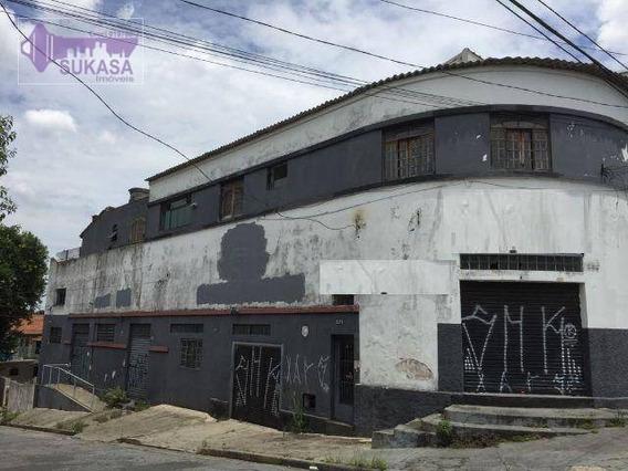 Prédio À Venda, 363 M² Por R$ 590.000,00 - Parque Novo Oratório - Santo André/sp - Pr0001