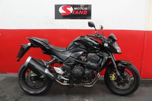 Kawasaki Z 750 Z750 Z-750 2011 Preta Preto