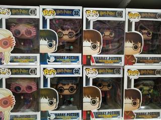 Funko Pop Harry Potter Hermione Ron Luna Voldemort Dobby