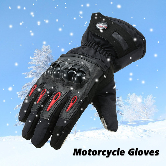 Pro-motociclista Luvas De Motocicleta De Inverno Moto Warm