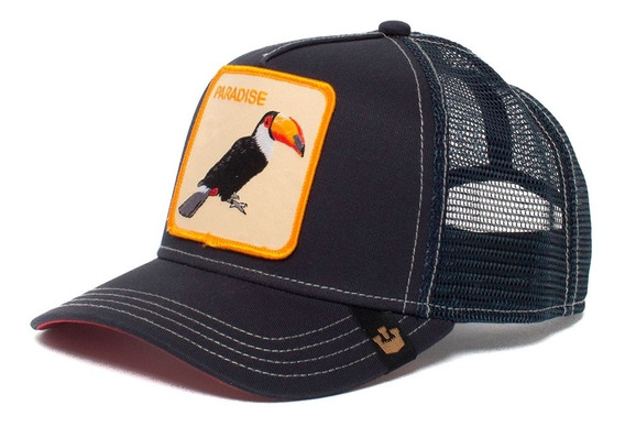 Gorra Trucker Goorin Baseball Paradise Animal Farm Tucan