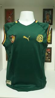 Camisa Futebol Selecao Camaroes Puma Regata