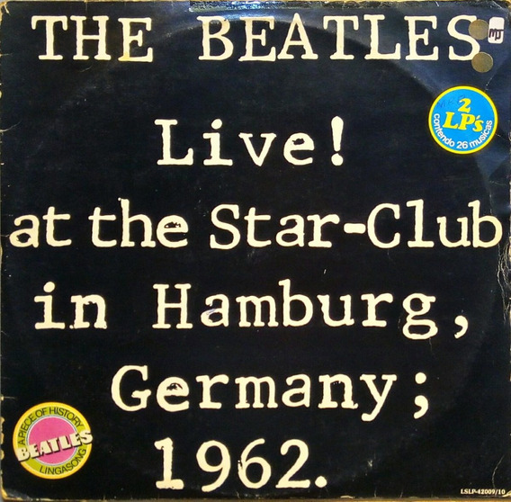 The Beatles Lp Live At The Star Club In Hamburg 1962 11421