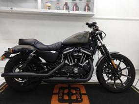 Harley Davidson Xl 883 Iron N Cinza 2018 - Target Race