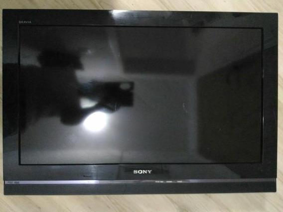 Com Defeito: Tv Sony 32 Klv-32s510a Com A Tela Quebrada