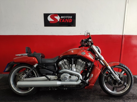 Harley Davidson Vrscf V-rod Vrod Muscle Abs 2013 Laranja