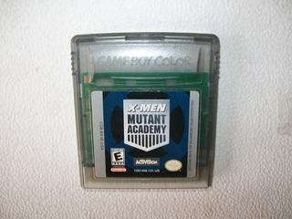 X Men Mutant Academy Activision Nintendo 1998 Game Boy Color