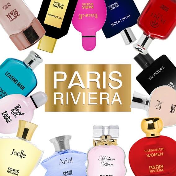 Kit De 40 Perfumes Paris Riviera 100ml A Escolha