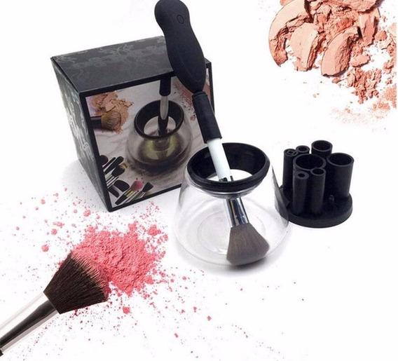 Limpador De Pincel Elétrico Maquiagem Make Limpa E Seca Top