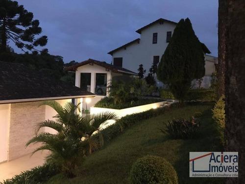 Casa À Venda, 350 M² Por R$ 1.800.000,00 - Chácara Eliana - Cotia/sp - Ca2085
