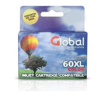 Cartuchos Compatible Para Hp Global 60 Xl Color F4480 C4780