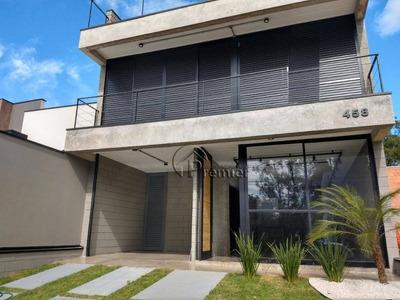 Sobrado Com 3 Dormitórios À Venda, 164 M² Por R$ 690.000 - Jardim Montreal Residence - Indaiatuba/sp - So0238