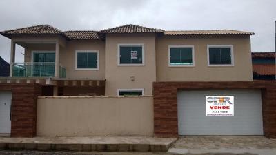 Casa Com 3 Dormitórios À Venda, 390 M² Por R$ 595.000 - Inoã (inoã) - Maricá/rj - Ca0737