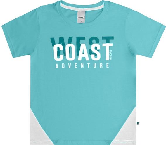 Camiseta Infantil Minore West Coast