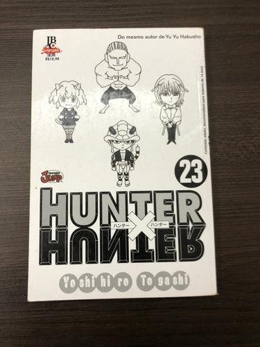 Mangá Hunter X Hunter N° 23