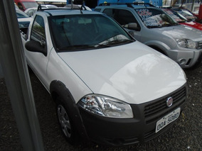 Fiat Strada Working 1.4 Branco 2013