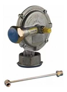 Regulador De Gas Natural 6m3 4 Bar Aprobado Con Flexible