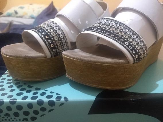 Sandalias Viamo Blancas