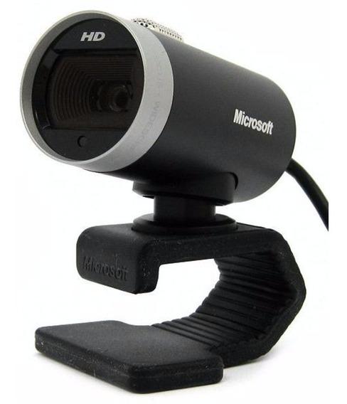 Web Cam Microsoft Lifecam Cinema Hd 360º H5d-00013 Lacrado